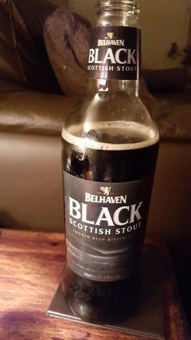 Belhaven Black Scottish Stout. .Nice Guinness esque smokey stout. Abv 4.2%