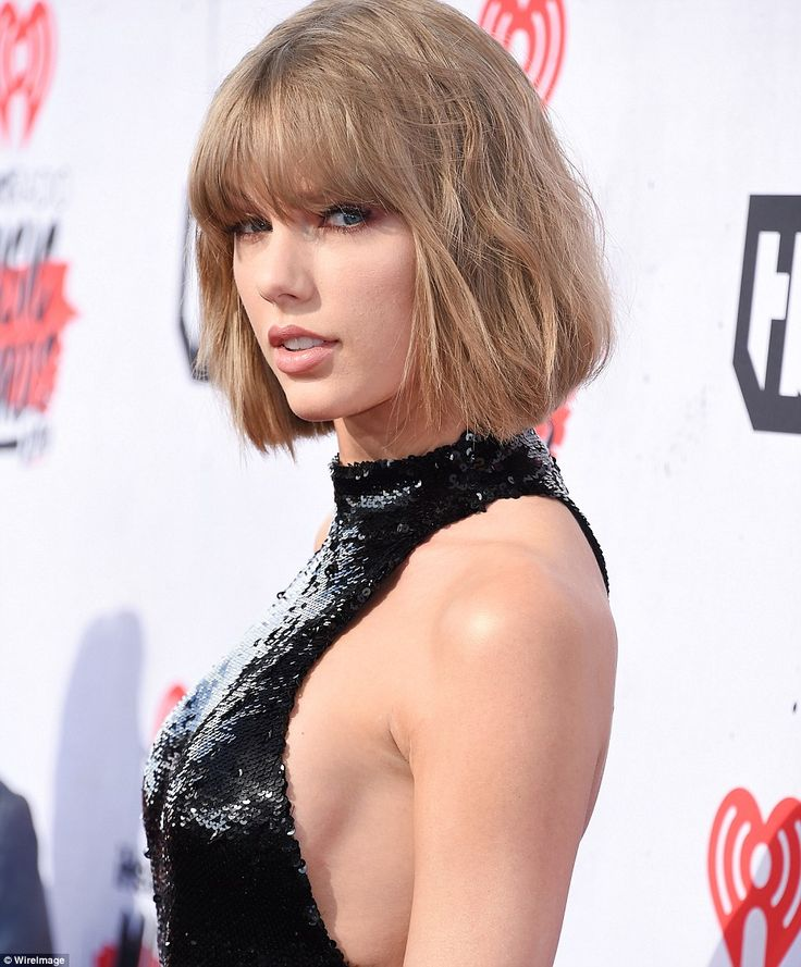 Taylor Swift wears sexy catsuit to the iHeartRadio Music Awards 2016