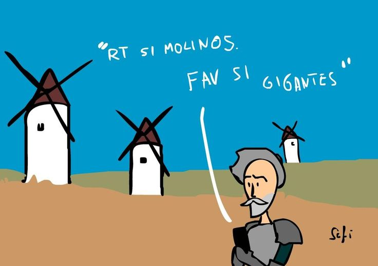 Quijote twittero
