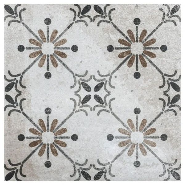 Shop Somertile 7 75x7 75 Inch Gandia Beige Ceramic Floor And Wall Tile 25 Tiles 10 94 Sqft Free Shipping On Orders In 2020 Beige Ceramic Ceramic Floor Wall Tiles