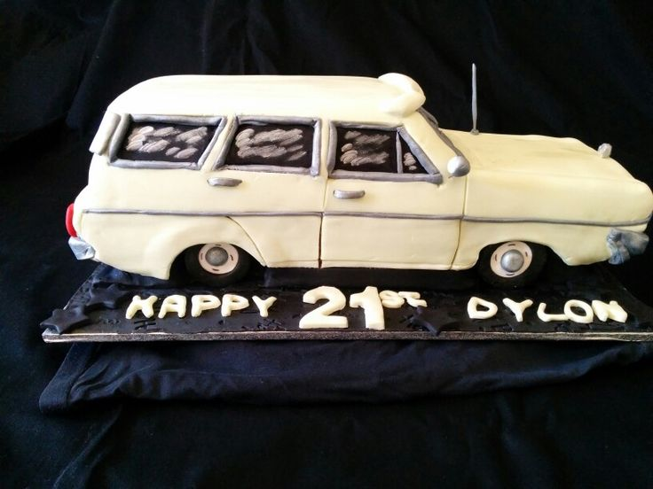 Chrysler Valiant 21st cake