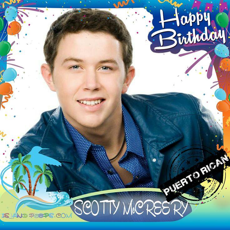 Happy Birthday Scotty McCreery!!! Singer & American Idol winner born of Puerto Rican descent!!! Today we celebrate you!!! @ScottyMcCreery #ScottyMcCreery #islandpeeps #islandpeepsbirthdays #AmericanIdol #puertorico