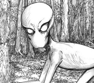 Dover Demon sightings of Massachusetts. For two nights in the 1970s, this strange creature was lurking around the town of Dover.  Seen by a handful of people, it haunts us to this day!