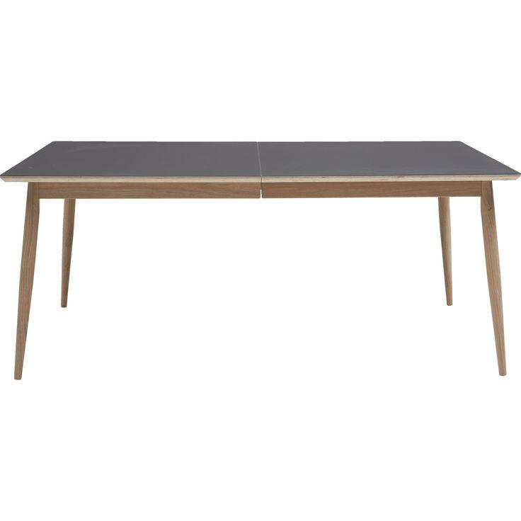 Trend 8 ILVA | 9499,- udtræksbord i matlakret eg/linoleum