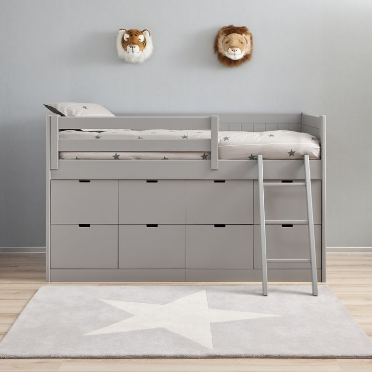 The Asoral Block Bed is a perfect storage solution children's bed