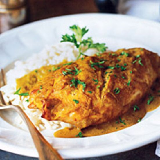 Caribbean curries often have a mild sweetness, usually from fruit. The banana flavor here is very subtle; you needn't worry about your dinner tasting ...