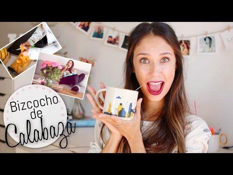 DIY Bizcocho de Calabaza en 1 Minuto | happysunnyflowers - YouTube