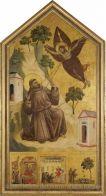 Giotto Saint François d'Assise recevant les stigmates | Musée du Louvre | Paris