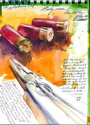 Sketchbook by Stan Fellows