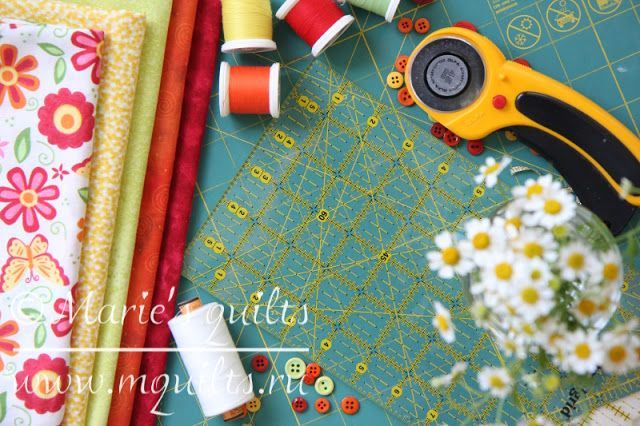 Marie's quilts: Совместный Проект 2017. Неделя 1.