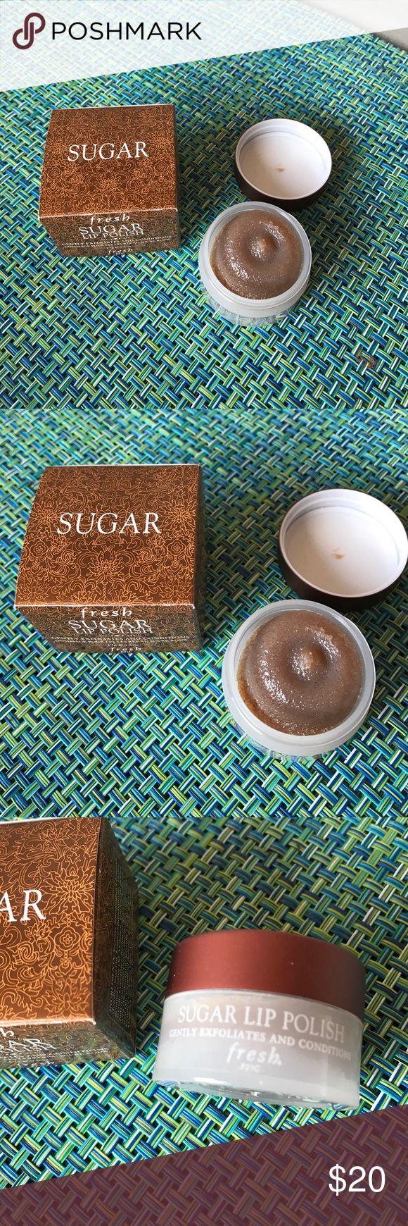Fresh Sugar Lip Polish NEW Brand new FRESH sugar lip polish. Lip polish gently exfoliates and conditions lips! 👄 ✌🏻️🙌🏻 Fresh Other