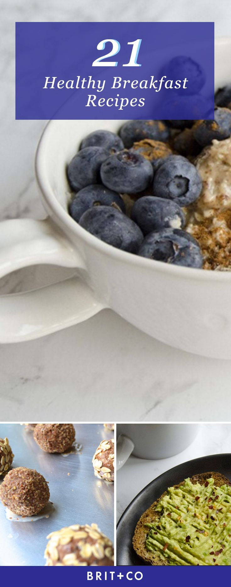 Jumpstart your resolutions with these healthy breakfast recipes.