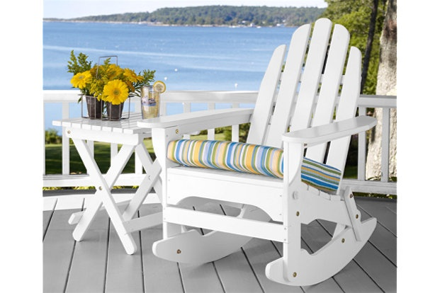Adirondack Rocker and Side Table: House Dreams, Side Table, Deck Ideas, Adirondack Rocker, Dream Ideas