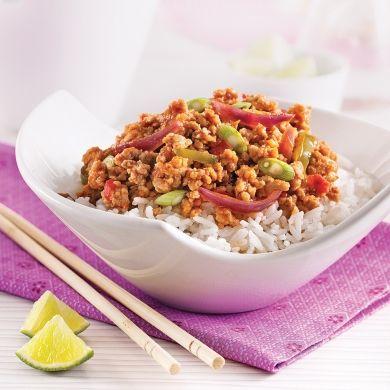 Sauté de porc au cari rouge - Recettes - Cuisine et nutrition - Pratico Pratique