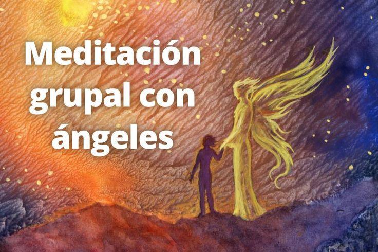 Meditación grupal con ángeles. Libera tus temores y  miedos con ayuda de los ángeles. Medita, relaja y pon en calma tus pensamientos. Escúchala en: http://reikinuevo.com/meditacion-guiada-angeles/