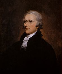 Alexander Hamilton (January 11, 1755 or 1757 – July 12, 1804) was a Founding Father,[2] soldier, economist, political philosopher, one of America's first constitutional lawyers and the first United States Secretary of the Treasury
