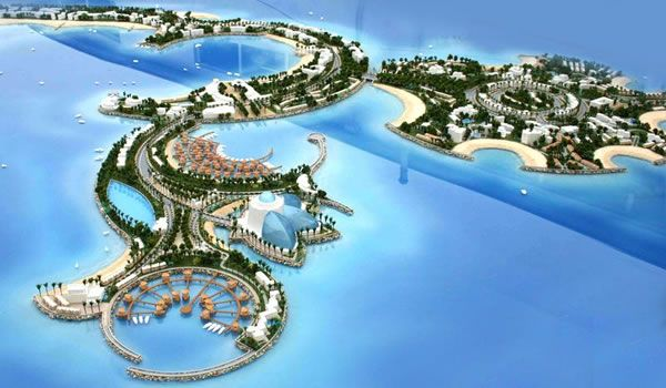 marjan island uae  marjan island resort uae