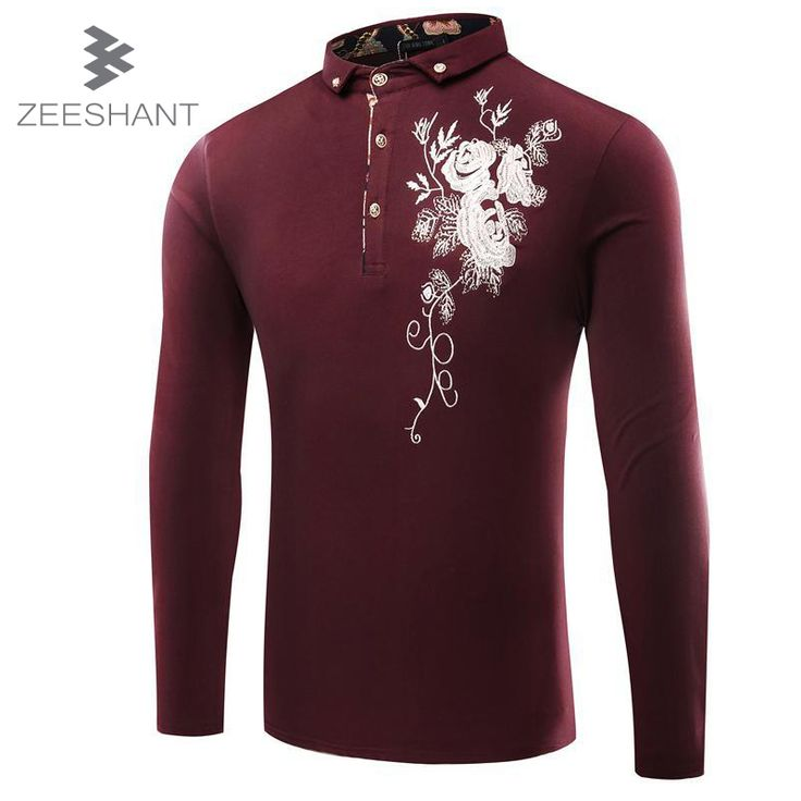 ==> [Free Shipping] Buy Best ZEESHANT Men Polo Long Sleeve Cotton Men's Polo Shirts Online with LOWEST Price | 32760710169