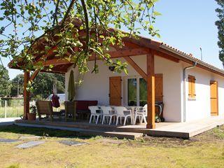 Maison neuve 8 personnes avec jardin et grande terrasse