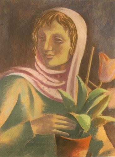 Wacław Borowski | | pastel, paper | 58.5 x 42.5 cm.