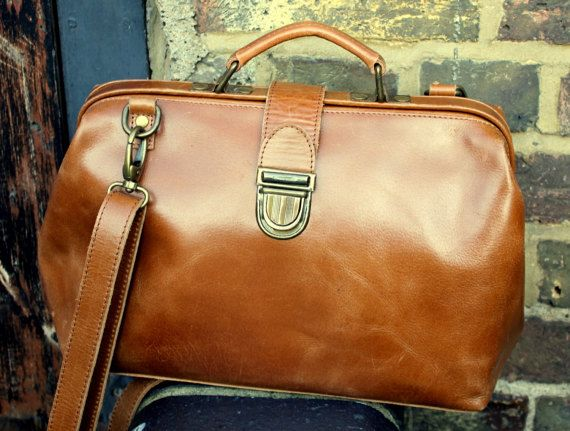 Hey, I found this really awesome Etsy listing at https://www.etsy.com/listing/495996532/doctor-bag-smooth-tan-leather