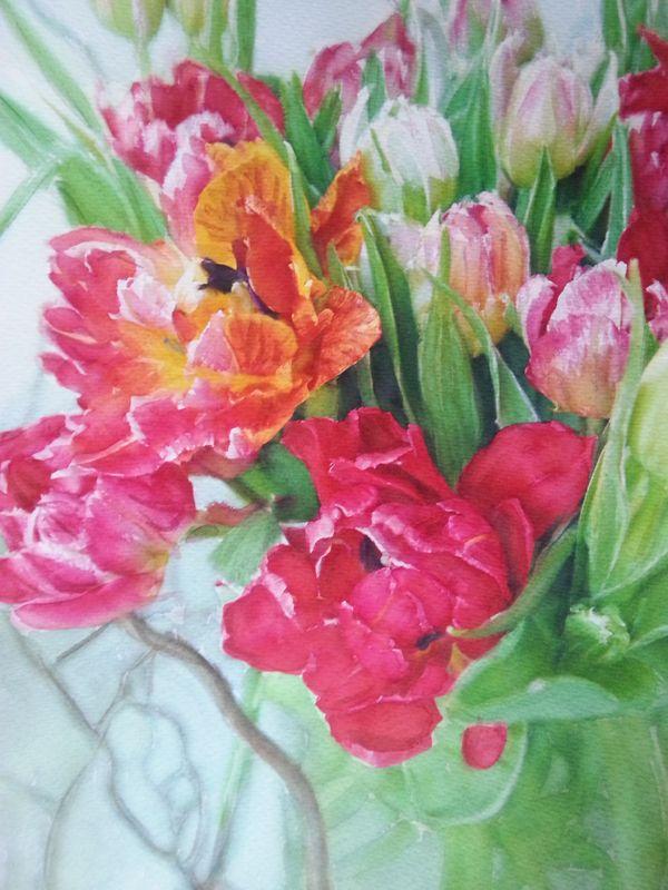 Blommor | Posse Akvarell