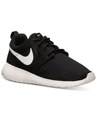 Nike Women's Roshe Run Casual Sneakers from Finish Line - Sneakers - Shoes - Macy's