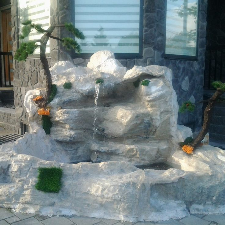 Best 25 rock waterfall ideas on pinterest dream pools for Garden waterfalls do it yourself