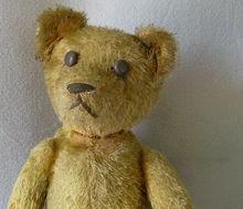 Vintage American Mohair Teddy Bear ~ Well Loved