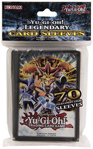Yu-Gi-Oh! – Jeux de Cartes – Protèges Cartes Format JAP – Officiel Konami – Joey, Yugi Et Kaiba (par 70): Protège-cartes d'excellente…