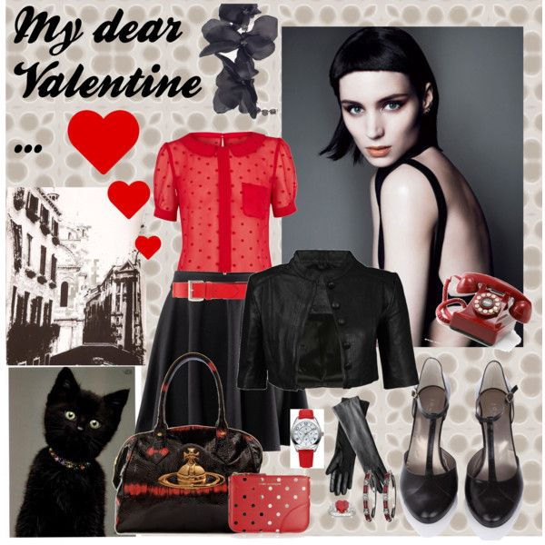 My dear Valentine ..., created by dea-afrodite on Polyvore