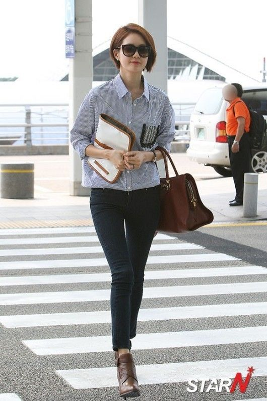 17 Best Images About Airport Kfashion Tips Steal Their Looks On Pinterest Yoona Incheon And
