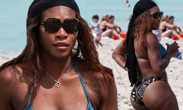 Serena Williams shows no one can compete with her curves in a bikini http://dailym.ai/P68ML6