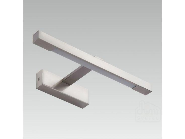 nástěnné koupelnové svítidlo Prezent Spirit 41106; LED 1*3,6W; Krytí: IP44; matný chrom