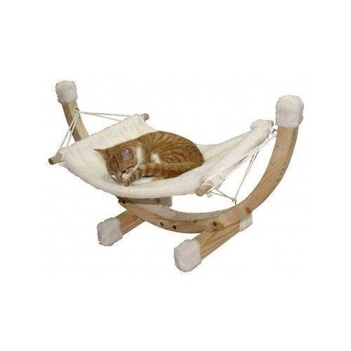 New Cat Hammock Bed Swing Sleep Pet Supplies Toys Pets Home Dog Kitten Food