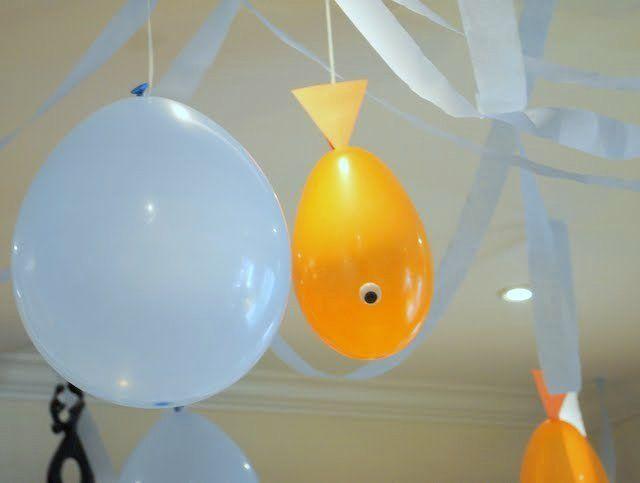 """goldfish birthday party   ... of 22: Goldfish / Birthday """"Goldfish Birthday Party""""   Catch My Party"""