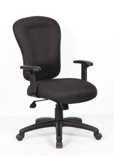 boss black task chair with b909jarm leather 1 chair executive rh pinterest com