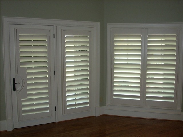 4 5 Plantation Shutters Single Panels No Center