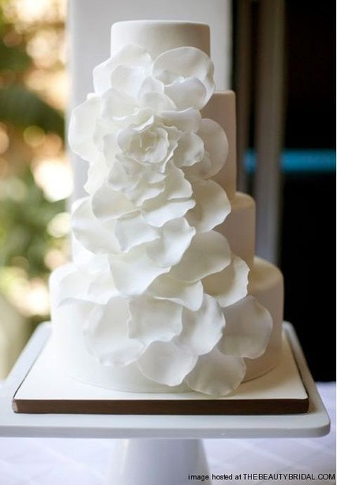 White Wedding Cakes « Wedding Ideas, Top Wedding Blog's, Wedding Trends 2014 – David Tutera's It's a Bride's Life