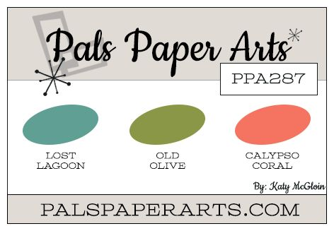 Check out this paper crafting color combination for your next hand stamped card idea. More details and 1000's of card ideas and tips on my blog, stampinpretty.com