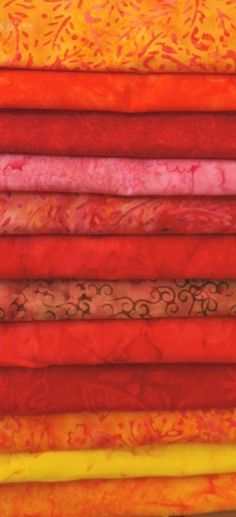 Stamped Batiks