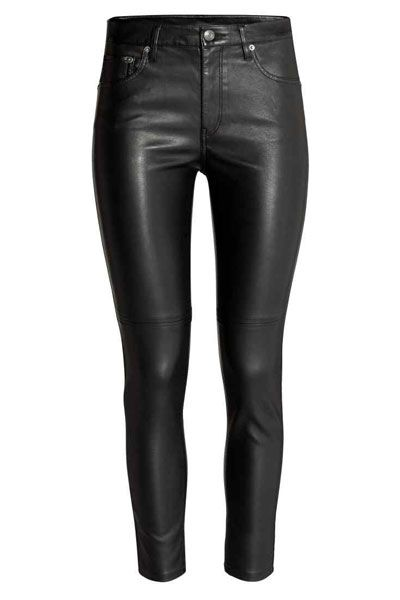 The Affordable Leather Skinnies To Buy Now | sheerluxe.com