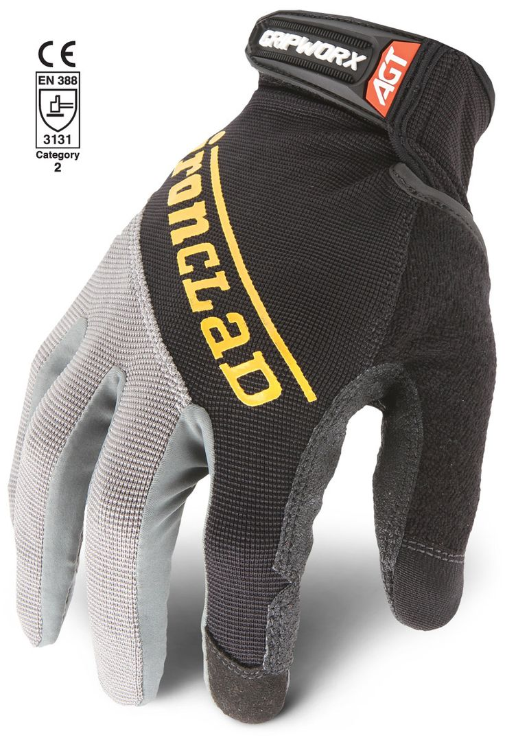 Fingerless gloves bunnings - Gripworx Comfortable Secure All Day Grip Patented Diamondclad Silicone