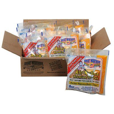Great Northern Popcorn Popcorn Portion Pack & Reviews | Wayfair