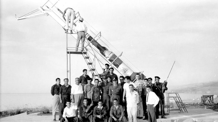 Lebanese Rocket Society, a science club from a Lebanese university which developed into their space program. After a series of successful launches of Cedar rockets, their program ended in 1966. [1280 × 720] : HistoryPorn