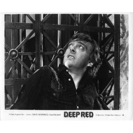DEEP RED US Movie Still N1 8x10 - 1974 - Dario Argento, David Hemmings