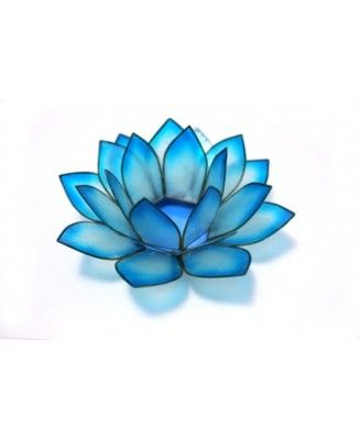 Blue lotus and offering bowl are symbols of Meret, Egyptian goddess of dancing, music and celebration, wife of Hapy, Nile god