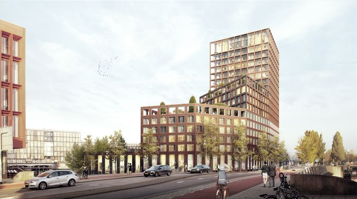 CIVIC architects - Panamalaan Residential Block - Amsterdam | Image ©3D Studio Prins