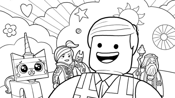 41 best Lego Coloring Pages images on Pinterest   Coloring ...