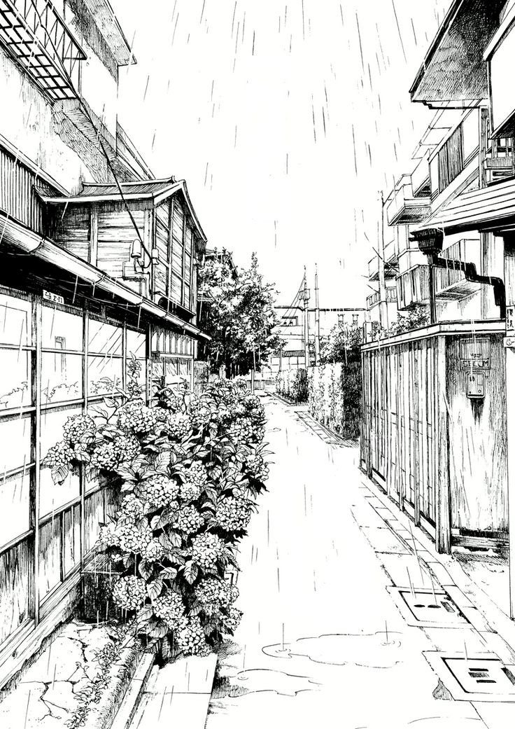 This sketch was effectively rendered using stroke work, scribbling and hatching to show the tone and texture.